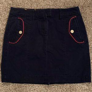 Like New Tommy Hilfiger Navy Corduroy Skirt